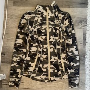 Lululemon Dupe Camo Zip Up Jacket